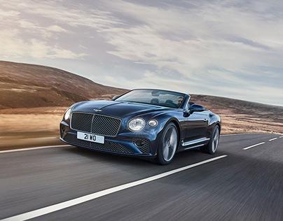 Bentley Continental GT Speed - Retouching
