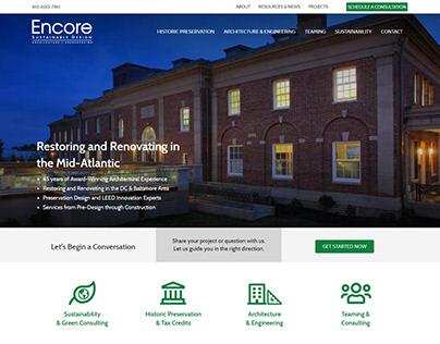 Encore Sustainable Design - Web Design and Development