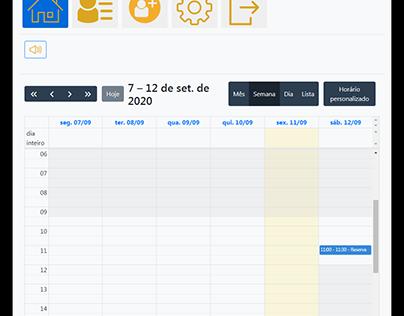 Calendário agenda