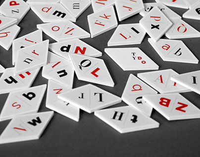 TYDO - TYPOGRAPHIC DOMINO GAME