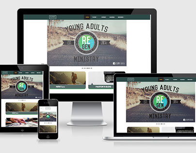 Summit Church Responsive Web Design