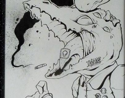 Niña Reptil