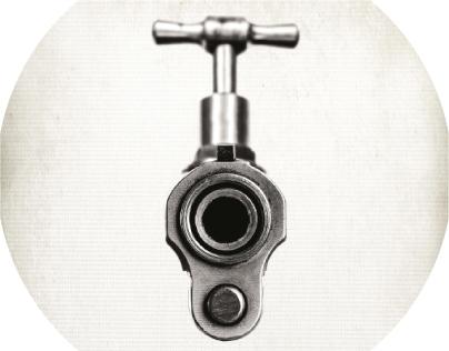 O desperdício é uma arma. / Waste is a weapon.
