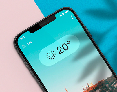 Weather App #DailyUI
