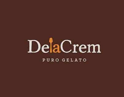 Restyling del logo DelaCrem (heladería artesana)