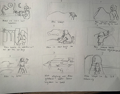 No Excuse - Storyboard (animatie discovery)