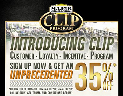 Email Marketing Campaign: CLIP Program