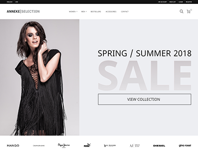 Anneke Selection - online store concept