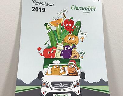 Ilustración Calendario Claramunt 2019