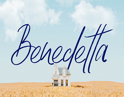 Benedetta - Lovely Handwritten Font