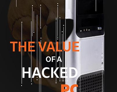El valor de una PC Hackeada