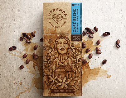 OFRENDA CAFÉ - Branding and packaging