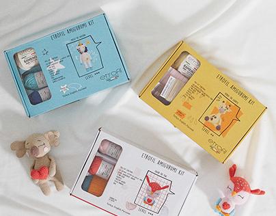 Etrofil Amigurumi Kit / Packaging Design