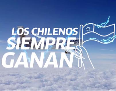 """JetSMART - Promo """"Los chilenos siempre ganan"""""""
