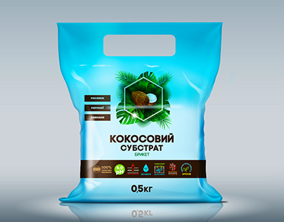 Coconut substrate packaging design