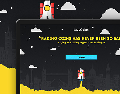 Lazy Coins website