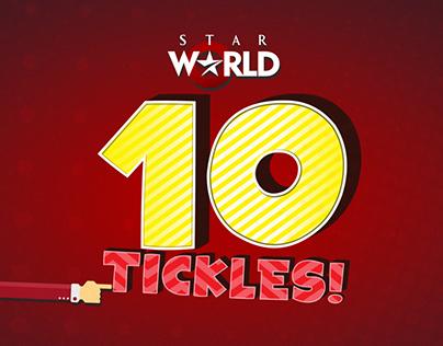 Star World 10 tickles!
