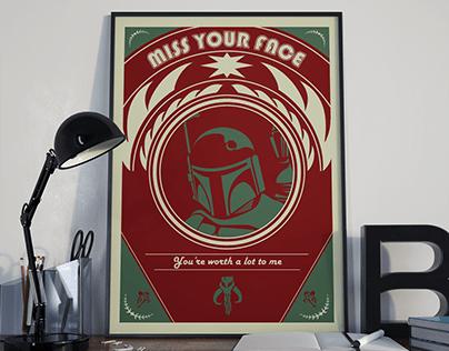 Boba Fett Poster