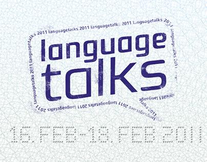 Languagetalks 2011 – conference design