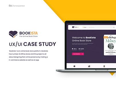 Bookista - UX Case Study