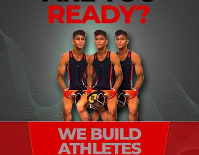 Athlete/Boxing Poster Design