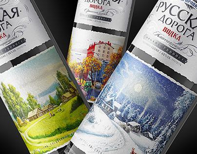 "Vodka ""Русская Дорога"""
