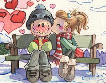 iTTTi Peppy Kids Club- Web Illustrations