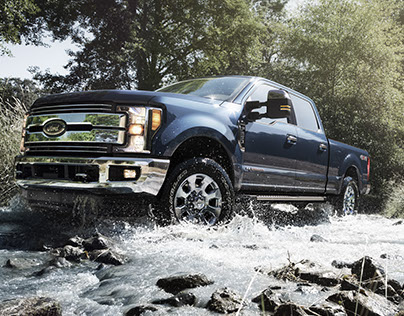 2017 Ford Superduty - CGI & Retouching