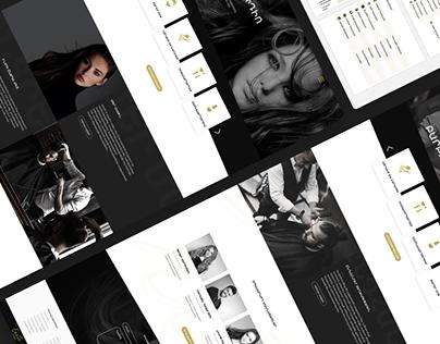 Erato Website Design