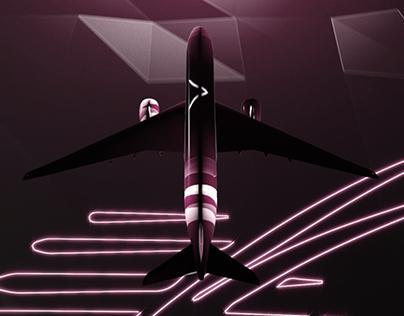 Qatar Airways Infographic Reel