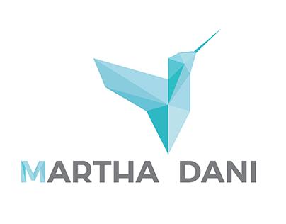 Martha Dani - Logo identity