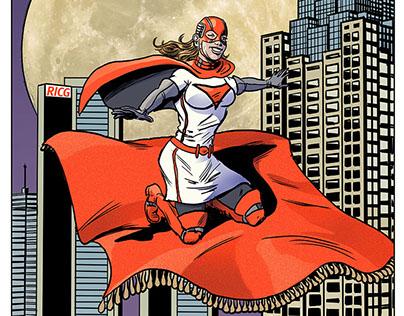 Page 16 RICG Comic Book Super Heroine Version
