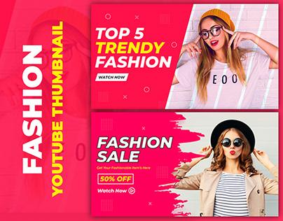 Fashion YouTube Thumbnail Design- Thumbnail Design
