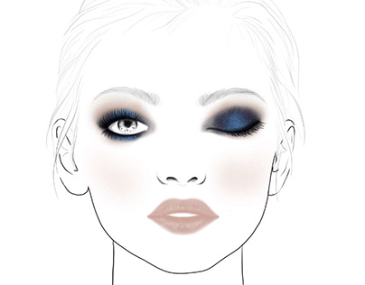 Facechart para Maybelline New York