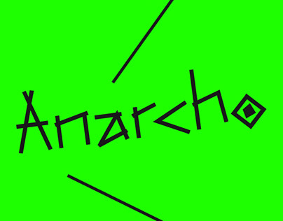 anarcho font
