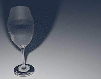 Blender 3D model glass texture