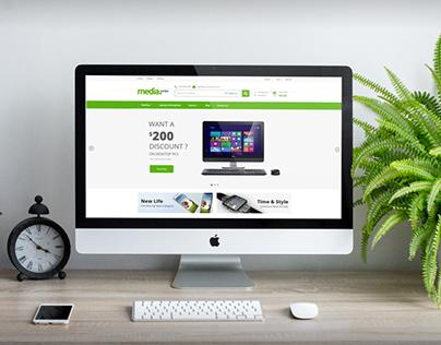 MediaCenter - Electronics Store Prestashop Theme