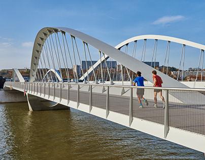 Schuman Bridge // Lyon, France