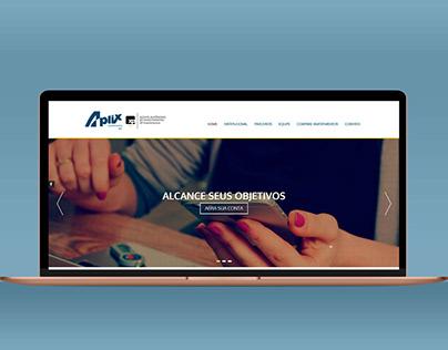 Aplix Investimentos - Layout e Desenvolvimento Web