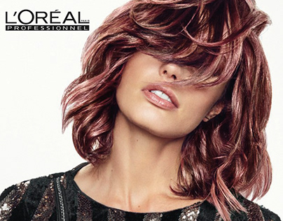 BUBBLES + L'ORÉAL Mad Metals Campaign