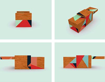 Design of a Laurent Gerbaud pop-up store.