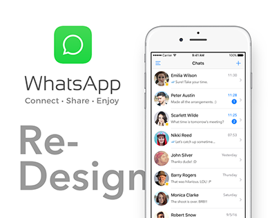WhatsApp – Redesign Concept