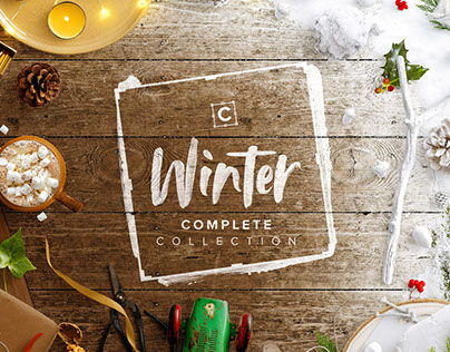 690+ Winter Objects