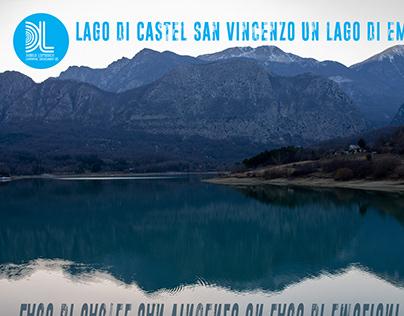 Lago di Castel San Vincenzo un lago di emozioni