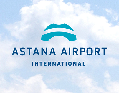 Astana airport. Logo & corporate identity