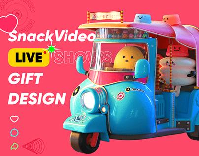 Gift Design For SnackVideo Live