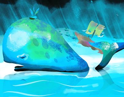 The Sleepy whale