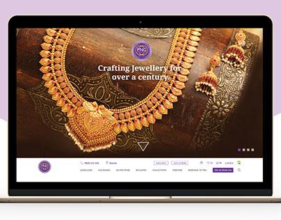 Jewellery website, revamping the UX