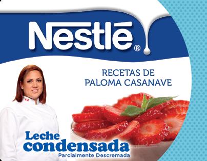Recetario Leche Condensada Nestlé