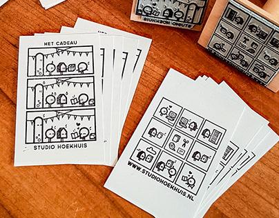 Studio Hoekhuis Mini-Comics-Stamps